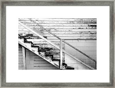 The Back Stairs Framed Print