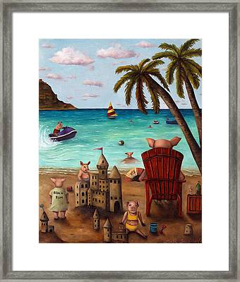 The Bacon Shortage Brighter Framed Print