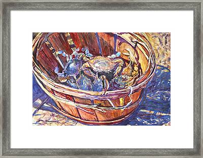 The Bad Boys Framed Print by Alice Grimsley
