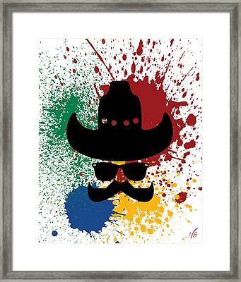 The Bad Guy Framed Print by Decorative Arts