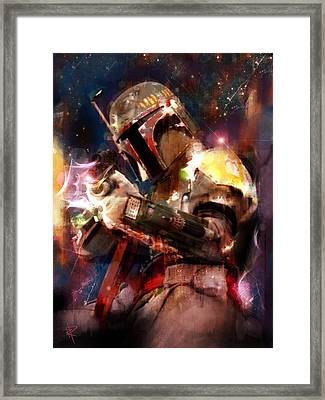The Bad Guy Framed Print by Russell Pierce