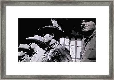 The Bad Guys Framed Print by Patricia Januszkiewicz