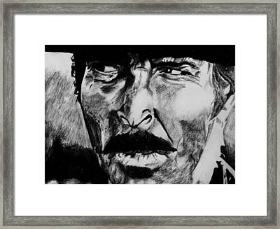 The Bad Framed Print by Jeremy Moore