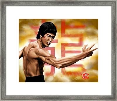 The Baddest Framed Print by Pete Tapang