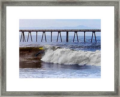 The Bail Out Framed Print by Ron Regalado