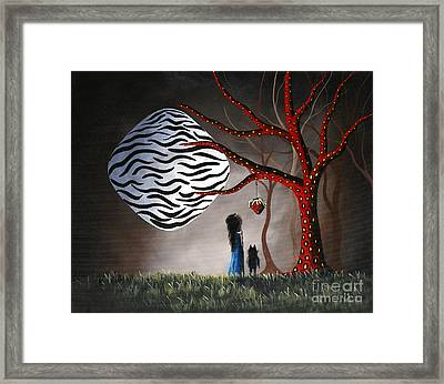 The Bait By Shawna Erback Framed Print by Shawna Erback