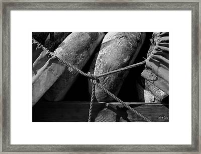 The Bakers Cart Framed Print by Robert Lacy