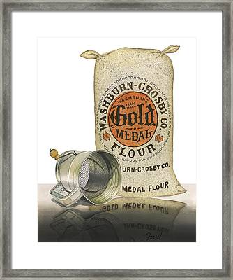 Framed Print featuring the painting The Bakers Choice by Ferrel Cordle