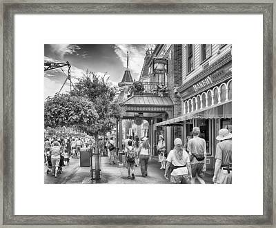 Framed Print featuring the photograph The Bakery by Howard Salmon