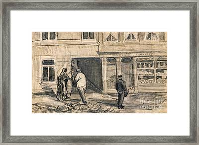 The Bakery In De Geest Framed Print by Vincent Van Gogh