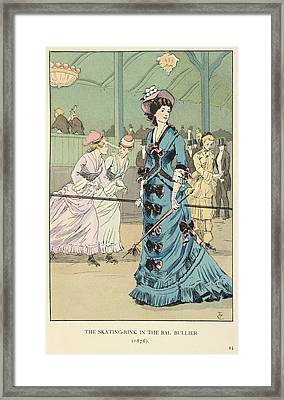 The Bal Bullier Framed Print by British Library
