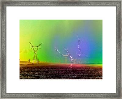 The Balance Of Powers Framed Print by Tom Druin