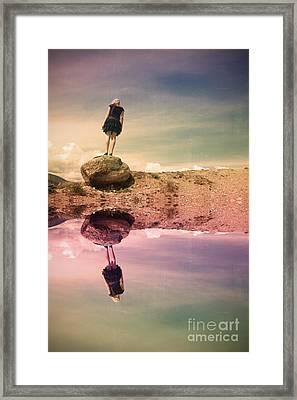 The Balancing Act Framed Print by Tara Turner
