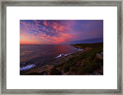 The Balconies Framed Print
