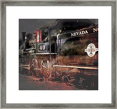 Framed Print featuring the photograph The Baldwin by Gunter Nezhoda