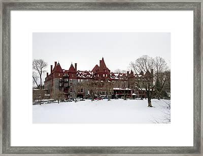 The Baldwin School Framed Print