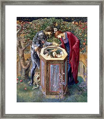 The Baleful Head, C.1876 Framed Print