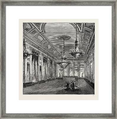 The Ball-room, Williss Rooms Framed Print