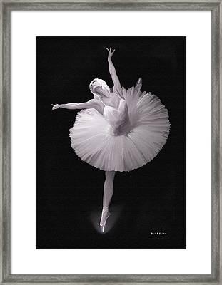 The Ballerina Framed Print by Angela A Stanton