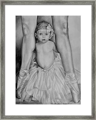 The Ballerina Framed Print by Curtis James
