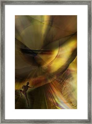 The Balloon Master Framed Print by Holger Debek