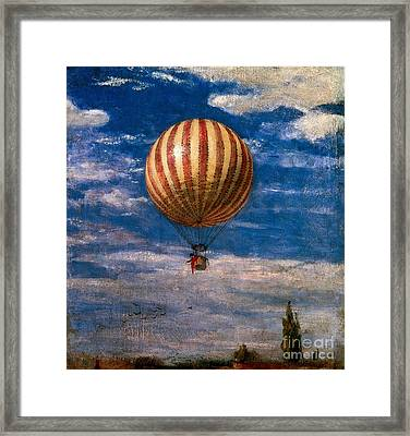 The Balloon Framed Print by Pal Szinyei Merse