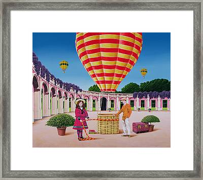 The Balloonist Framed Print by Anthony Southcombe