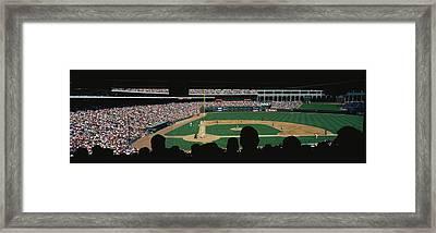 The Ballpark In Arlington Framed Print