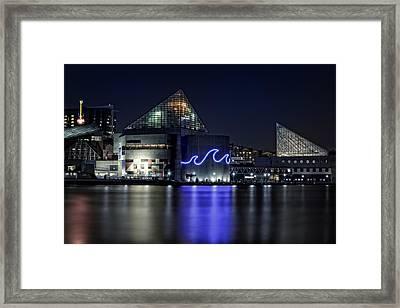 The Baltimore Aquarium Framed Print by Rick Berk