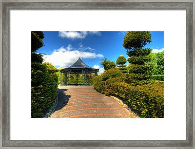 The Bandstand Framed Print by Steve Purnell