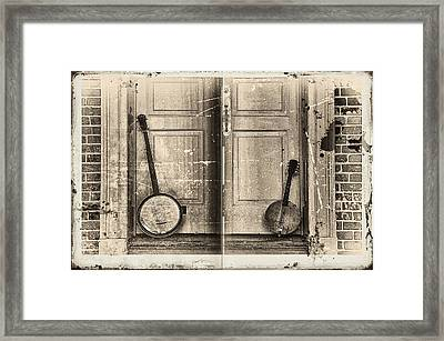 The Banjo Story Framed Print by Bill Cannon