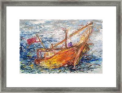 The Banoosh Framed Print