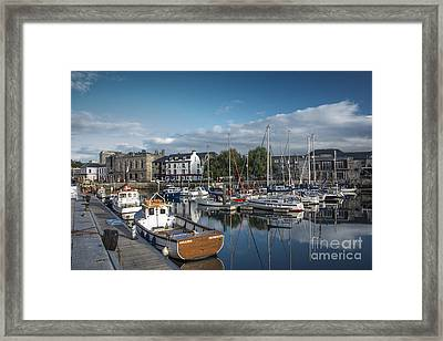 The Barbican Plymouth Devon Framed Print by Donald Davis