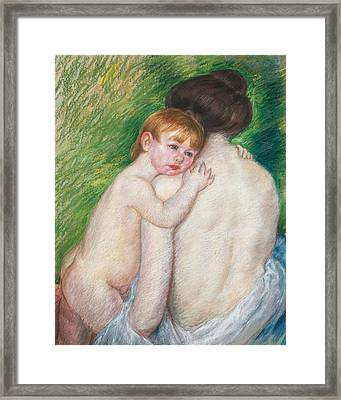 The Bare Back Framed Print