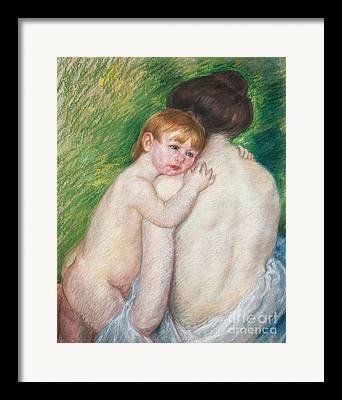 Mary Cassatt Stevenson Framed Prints