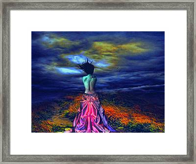 The Bareback Duchess Framed Print by Tyler Robbins