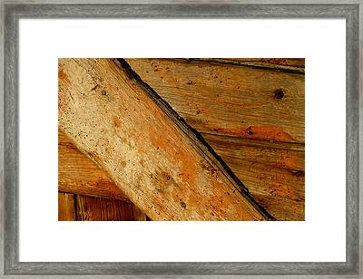The Barn Door Framed Print by William Jobes