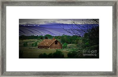 The Barn Framed Print by Robert Bales