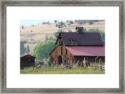 The Barn Framed Print