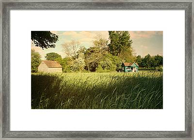 The Barn Framed Print by Stephen Norris