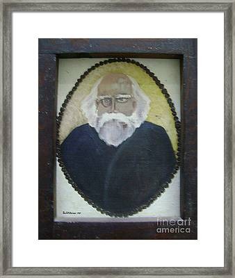 The Baron Framed Print by Roni Ruth Palmer
