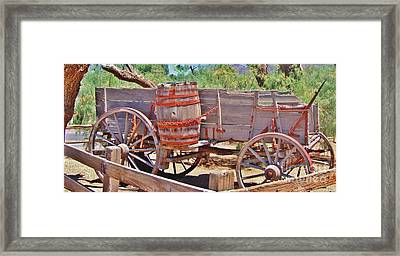 The Barrell Framed Print by Marilyn Diaz