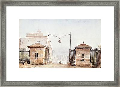 The Barriere De Menilmontant Framed Print