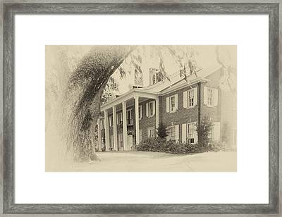 The Baruch House Framed Print