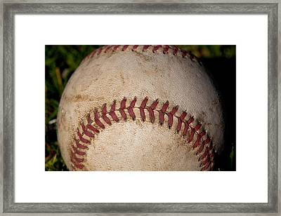 The Baseball II Framed Print by David Patterson