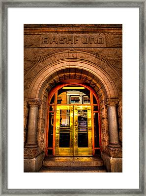 The Bashford Building Prescott Arizona Framed Print by David Patterson