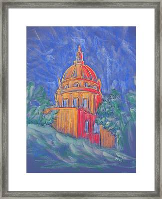 The Basilica Framed Print by Marcia Meade