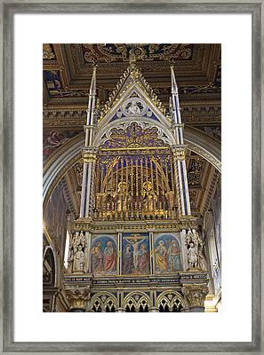 The Basilica Of Saint John Lateran Framed Print