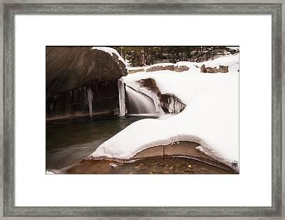 The Basin Framed Print by Christine Nunes