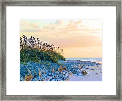 The Basket Framed Print